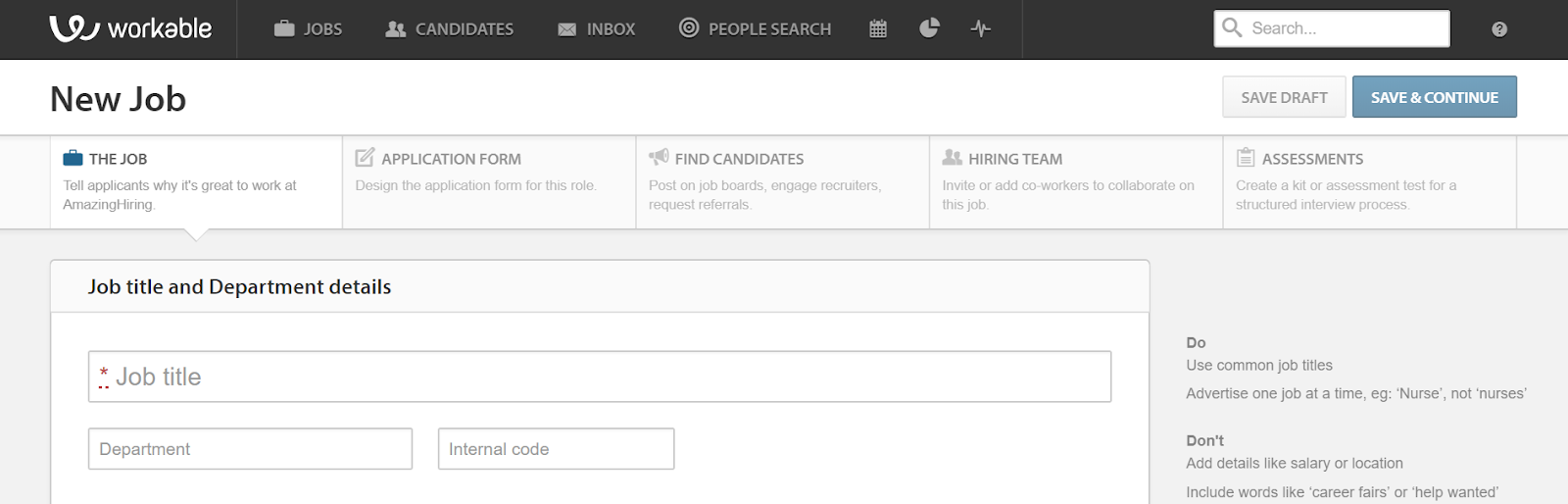 AmazingHiring - Top 16 Recruiting Software Tools and Hiring