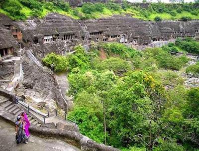 <h4>印度AJANTA洞穴</h4>