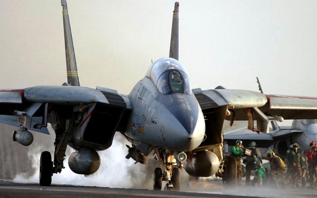 F-14 Tomcat Jet Fighter Wallpaper 3