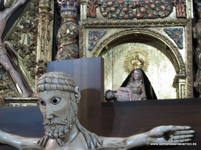 Cristo de Carrizo y La Dolorosa