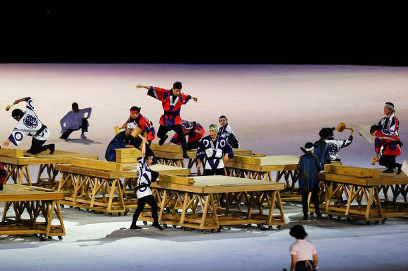 Hình ảnh lung linh đêm khai mạc Olympic Tokyo - ảnh 1