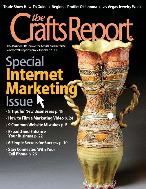 I'm in The Crafts Report Magazine!