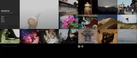 дизайн для фотоблога