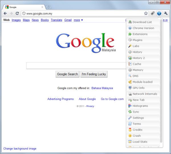 Chrome Page Extended Google Chrome