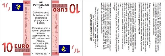 ZNote Project - 10 Euros - Slovenia - by Daniel Lovas