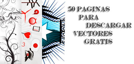 50 Paginas Para Descargar Vectores Gratis
