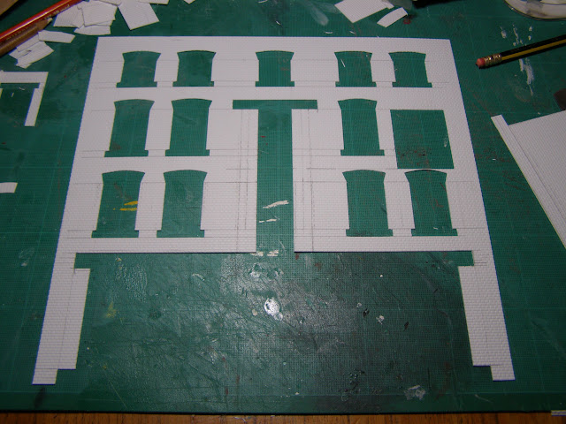 Windows and doors cut out
