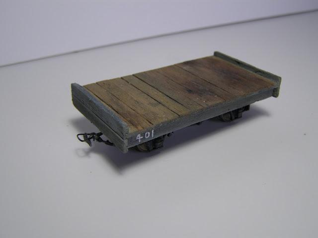 Flatbed wagon