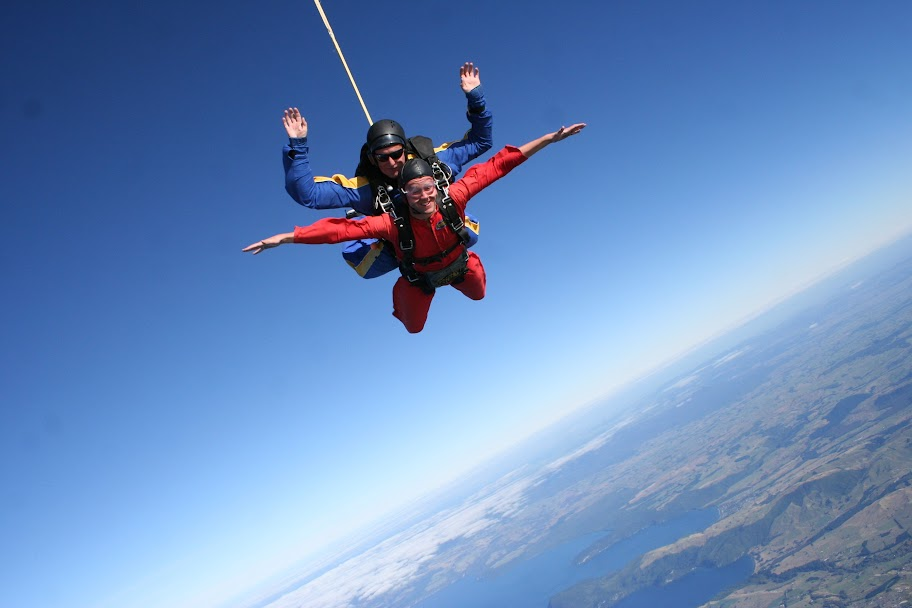 Sky Dive Lake Taupo