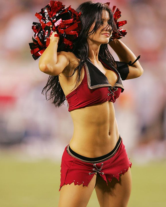 Mystery Tampa Bay Bucs Cheerleader(Safe For Work-2photos)2