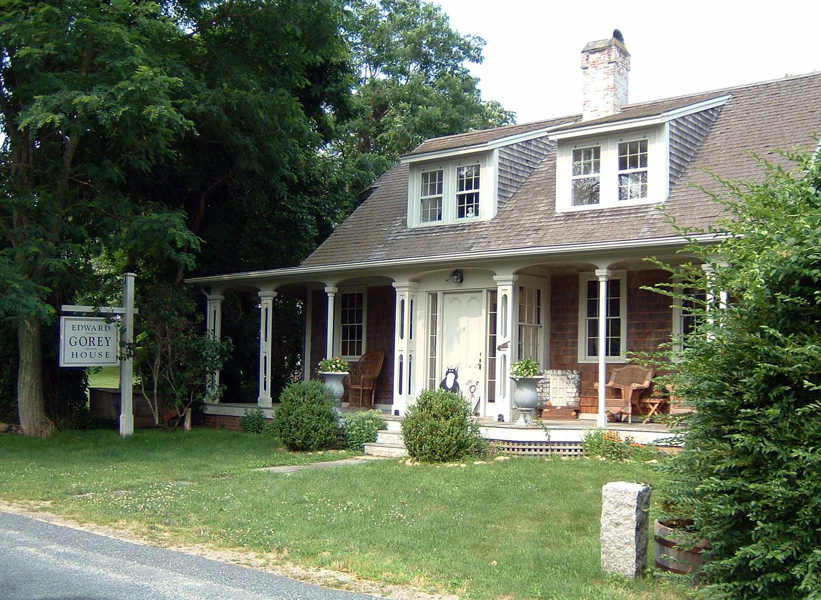Edward Gorey House - a casa do escritor