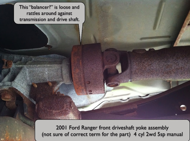how to remove front drive shaft