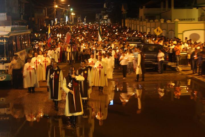 Procesión Viernes Santo en Nueva Loja, Sucumbíos