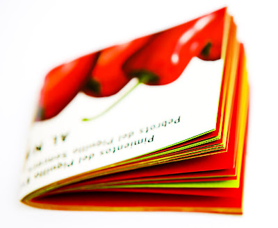 llibretes reciclades : pimientos del piquillo