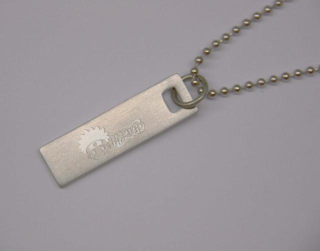 NARUTO Tag Pendant Necklace