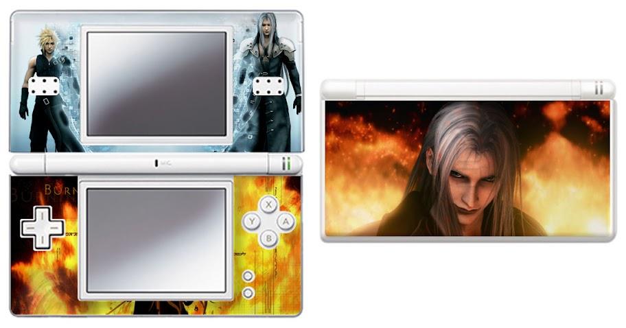 Final Fantasy Advent Chidren STEPH Nintendo DS Lite Vinyl Skin Sticker Decal