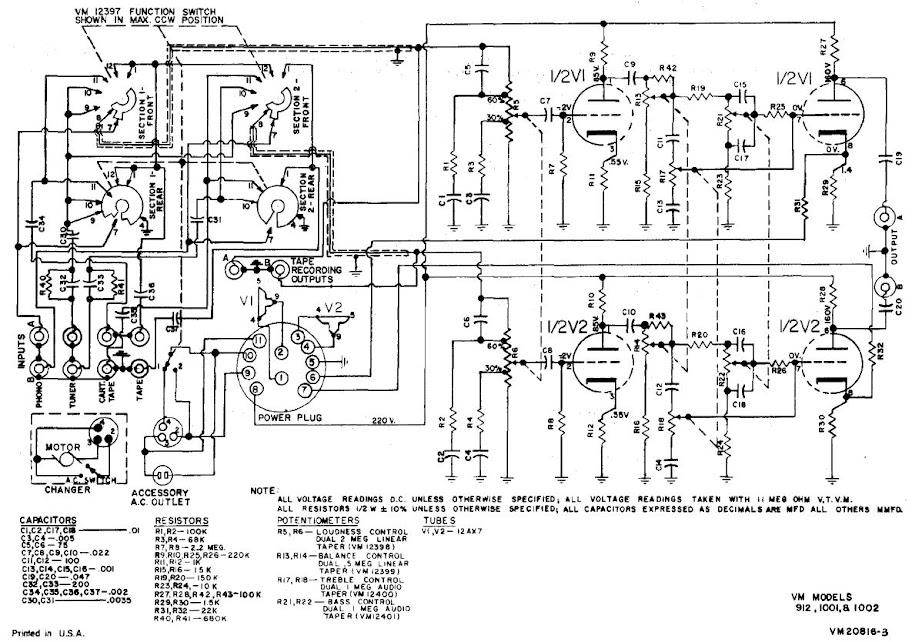 voice of music model 912 amplifier