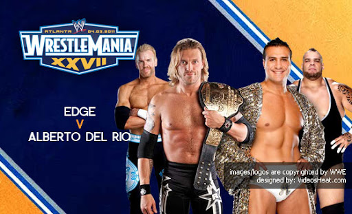 wwe wrestlemania 27 results. WWE WrestleMania XXVII 4/3/11