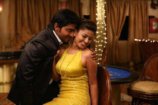 Sneha Romance Wallpaper