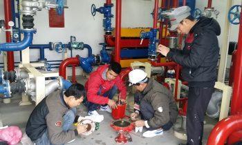 Thi công lắp đặt PCCC tại cty H.N.Q