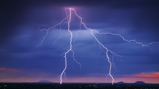 Lightning Strike Over the Snake River Valley, Idaho.jpg