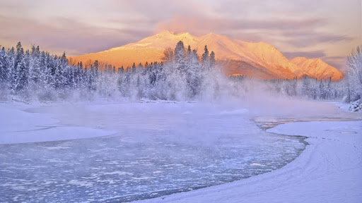 Early Morning Sunrise at Bulkley River, Telkwa, British Columbia - Copy.jpg