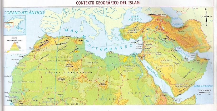 CONTEXTO GEOGRAFICO DEL ISLAM