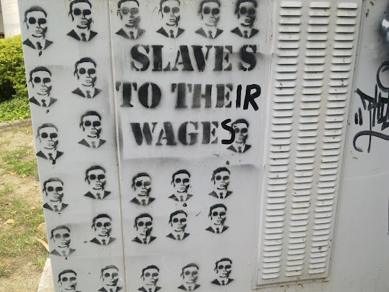 slaves to their wages