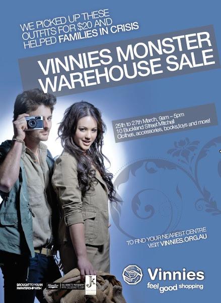 Vinnies poster