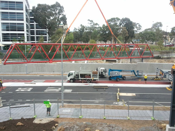 belconnen red bridge removed