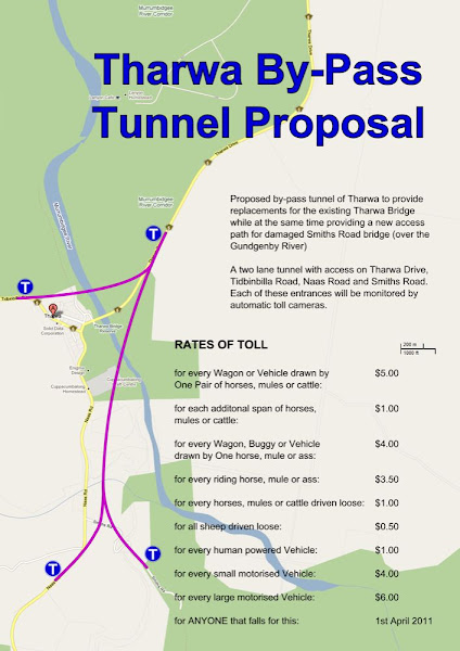 Tharwa tunnel