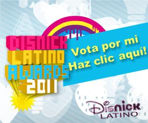 Vota por mi en los DisNick LA. Awards!