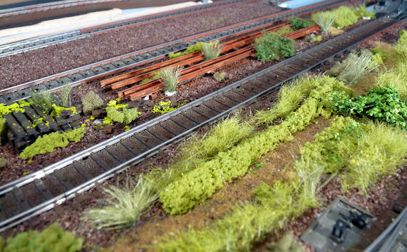 Oude roestige rails