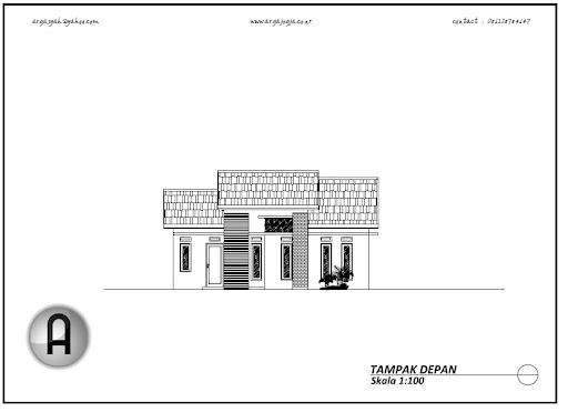 desain rumah modern mungil minimalis type 80 argajogja 39 s