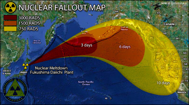 Japan\'s Nuclear Fallout Maps: Photoshop Hoax or Not? - AZRainman\'s ...