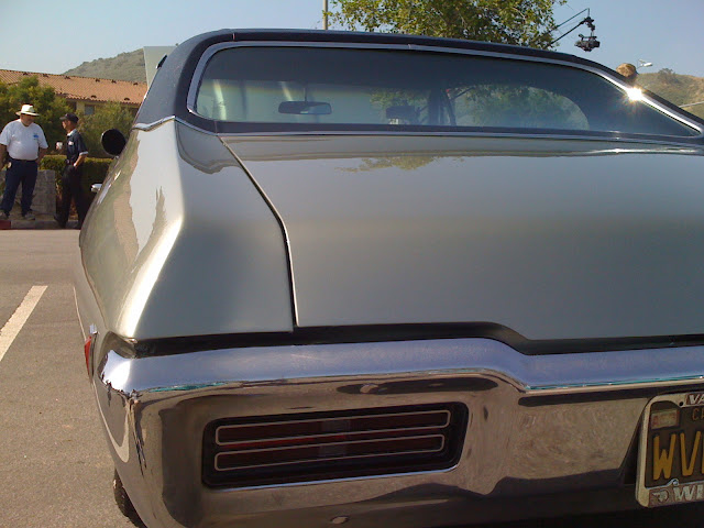 68 GTO bumper before image