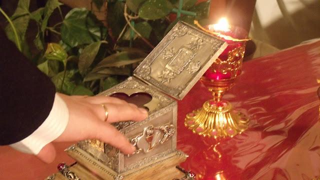 Молитва у мощей святого Николая Чудотворца