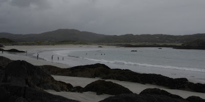 looking for a picnic spot, Derrynane Beach, Ireland