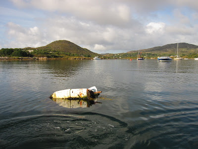 while rowing, Ireland