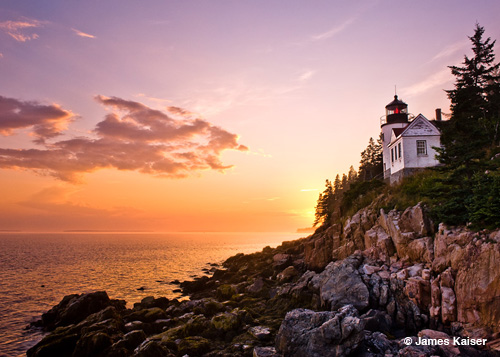 Acadia - Bass Harbor Light, James Kaiser