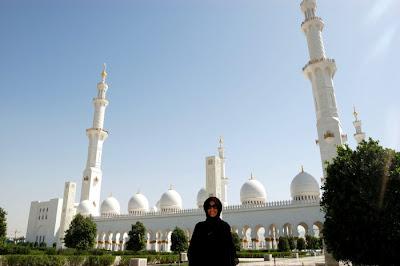 In Sheik Zayed Mosque, Abu Dhabi