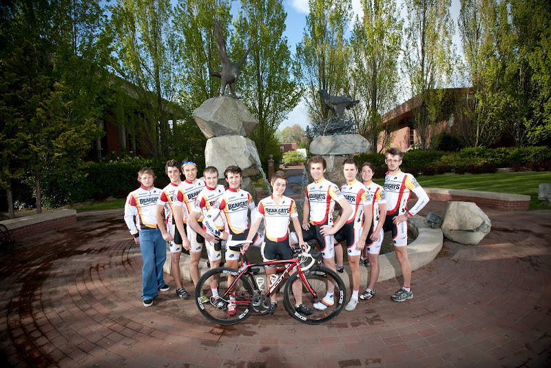 2010 WU Cycling Team