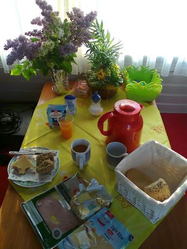 Oster Frühstückstisch