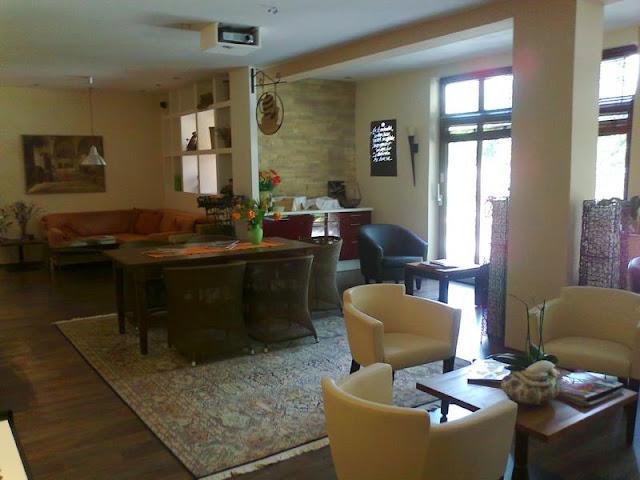 Lounge und Wartebereich Wellness