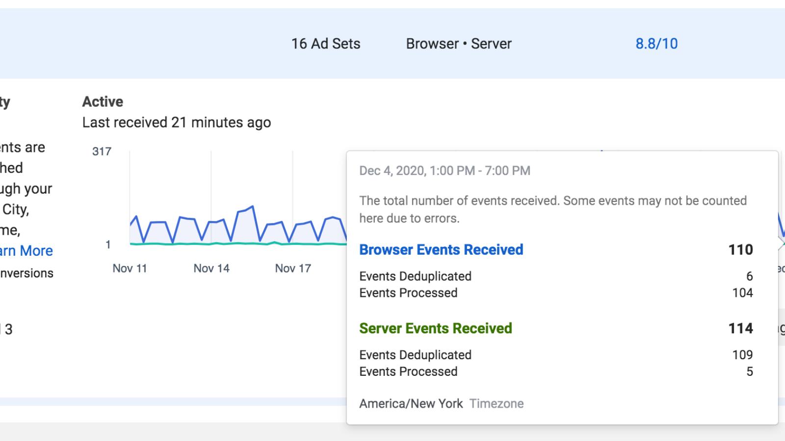 Facebook Conversion API Events