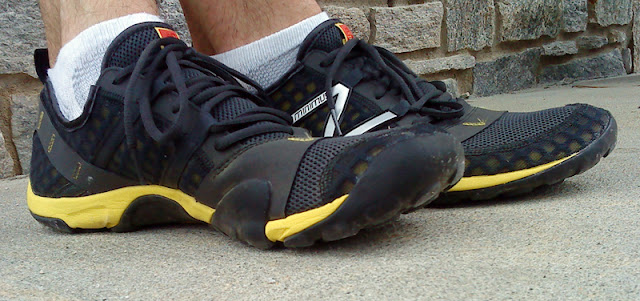 New Balance Minimus Trail - standing in them