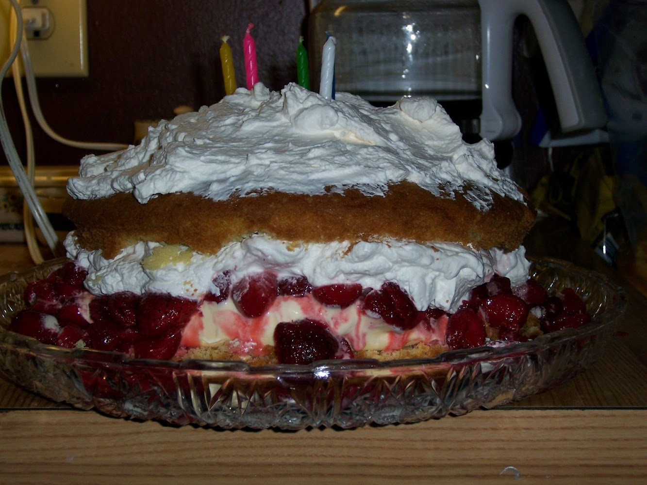 Homemade Birthday Cake