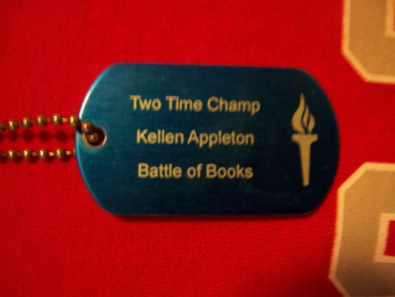 A Dog Tag Reward for Kellen