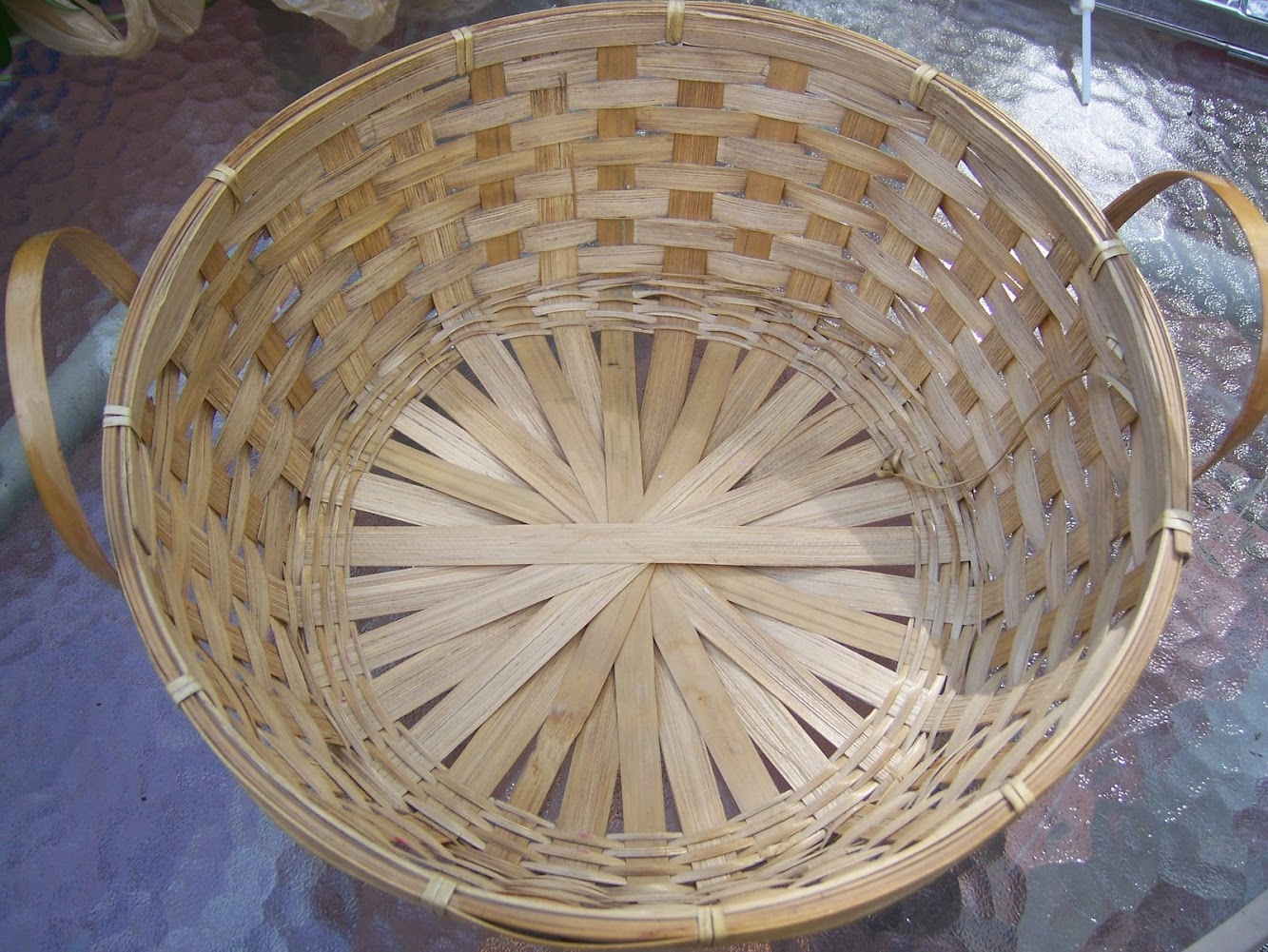Do It Yourself Basket Planter
