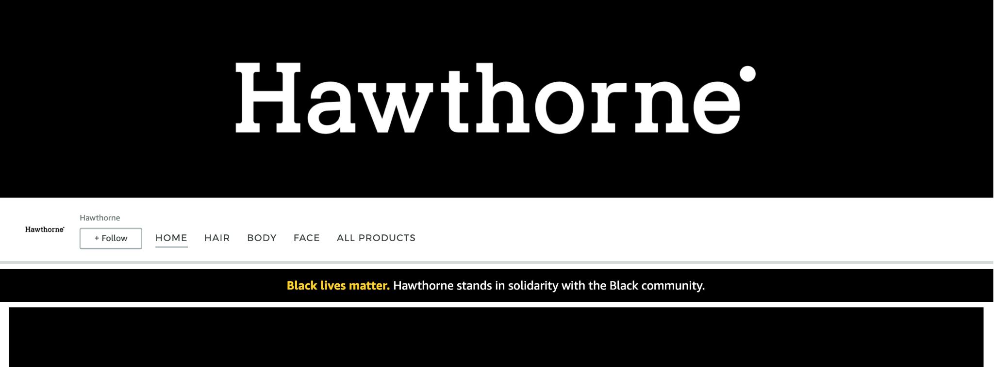Hawthorne Storefront